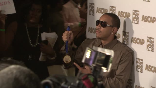 ludacris at the ascap rhythm soul awards at los angeles ca - ludacris stock videos & royalty-free footage