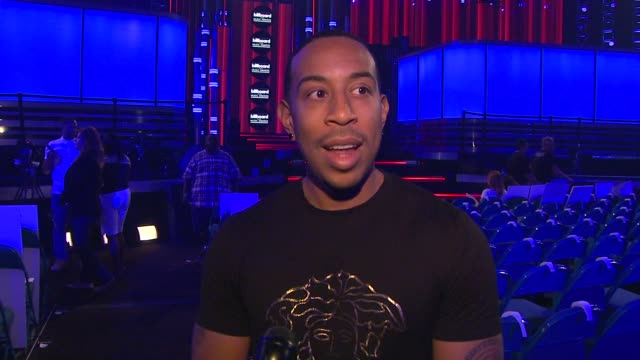 interview ludacris on hosting the show and anticipating the michael jackson experience billboard music awards 2014 rehearsals day 2 on may 17 2014 in... - ludacris stock videos & royalty-free footage
