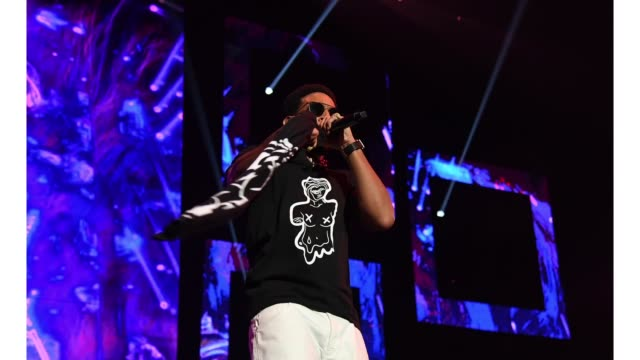ludacris performs onstage during bud light super bowl music fest / ea sports bowl at state farm arena on january 31 2019 in atlanta georgia - ludacris stock videos & royalty-free footage