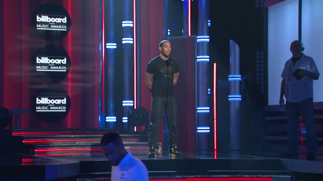 Ludacris rehearses to host the Billboard Music Awards 2014 Rehearsals Day 2 on May 17 2014 in Las Vegas Nevada