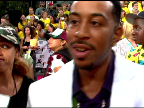 Ludacris talks about looking forward to partying with Lil'Kim looking forward to seeing Shakira shake her hips who's got the best butt at the VMA's...