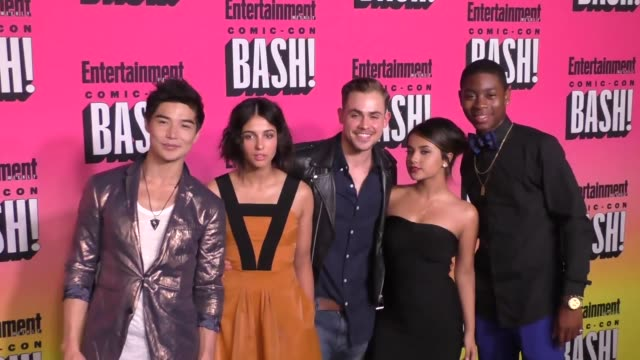 Ludi Lin Naomi Scott Dacre Montgomery Becky G RJ Cyler at the Entertainment Weekly San Diego Comic Con Party
