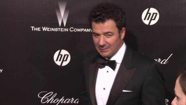Ludovic Bource at The Weinstein Company Golden Globe AfterParty at The Beverly Hilton Hotel on 1/15/12 in Los Angeles CA