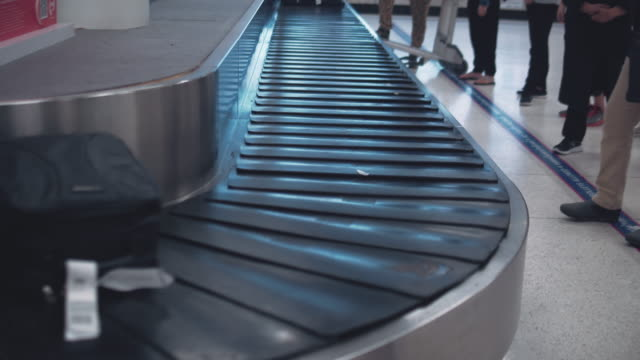 Luggage belt at airport