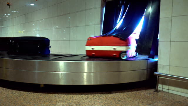 Luggage belt at the Airport