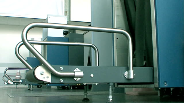 Luggage screening on airport x-ray device