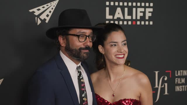 """luis david ortiz and lissette feliciano at the laliff closing night """"women is losers,"""" red carpet capture produced by cindy maram, dig in magazine/in... - tcl chinese theatre stock videos & royalty-free footage"""