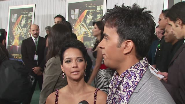 luis fonsi/ nominee- best male pop vocal album he discusses his nomination and what a great event this is he talks about just having gotten married,... - latin grammy awards stock videos & royalty-free footage