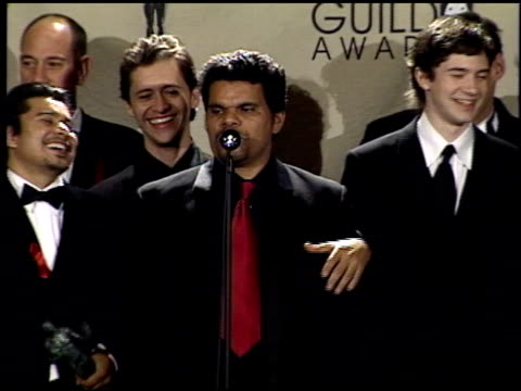 Luis Guzman at the 2001 Screen Actors Guild SAG Awards press room at the Shrine Auditorium in Los Angeles California on March 11 2001