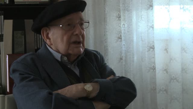 luis ortiz alfau celebrara sus 100 anos en octubre - guerra civil stock videos and b-roll footage