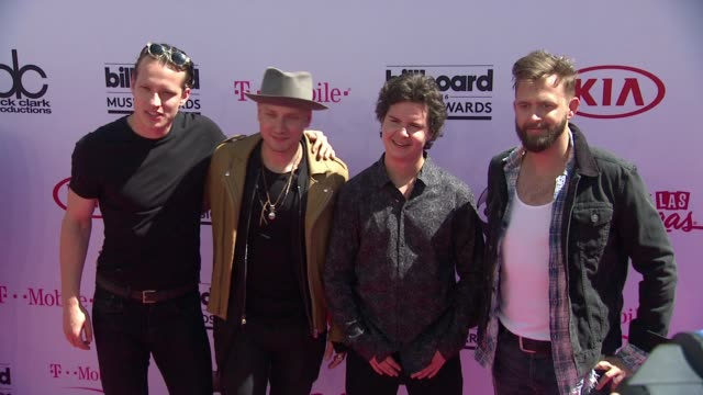lukas graham at 2016 billboard music awards arrivals at tmobile arena on may 22 2016 in las vegas nevada - performance group stock videos & royalty-free footage