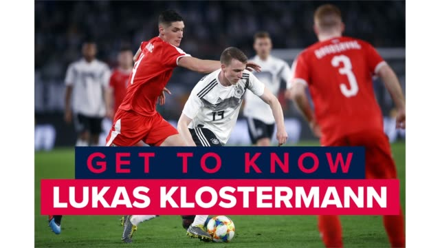 lukas klostermann is a defender for rb leipzig in the bundesliga and the germany national team. get to know one of germany's best soccer players. - fußballweltmeisterschaft 2010 stock-videos und b-roll-filmmaterial