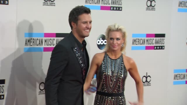 luke bryan at 2013 american music awards arrivals in los angeles ca - american music awards stock videos and b-roll footage