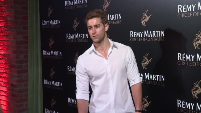Luke Guldan at The House of Remy Martin and Actress Jackie Cruz celebrate launch of 2016 Circle of Centaurs at The Bowery Hotel on August 17 2016 in...