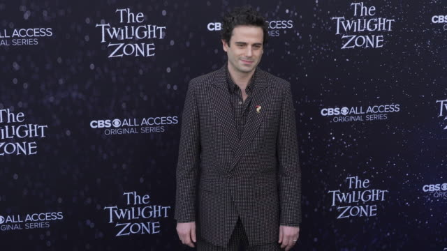 "luke kirby at the premiere of ""the twilight zone' at the harmony gold preview house and theater on march 26, 2019 in hollywood, california. - harmony gold preview theatre stock videos & royalty-free footage"