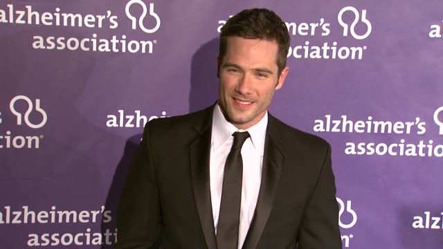 Luke Macfarlane at the 19th Annual 'A Night At Sardi's' Benefitting The Alzheimer's Association at Beverly Hills CA