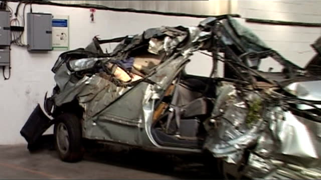 luke mccormick sentenced to seven years for death by dangerous driving tx stokeontrent int wreckage of toyota car range rover car wreckage - luke mccormick stock videos and b-roll footage