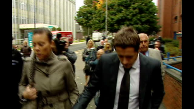 luke mccormick sentenced to seven years for death by dangerous driving england staffordshire stokeontrent photography *** luke mccormick arriving at... - luke mccormick stock videos and b-roll footage