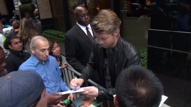 Luke Mitchell at the 2013 CW Upfront Presentation in New York NY on 5/16/13