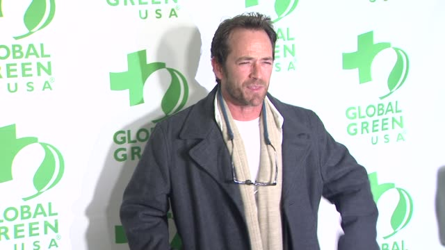Luke Perry at Global Green USA's 10th Annual PreOscar Party on 2/20/13 in Los Angeles CA