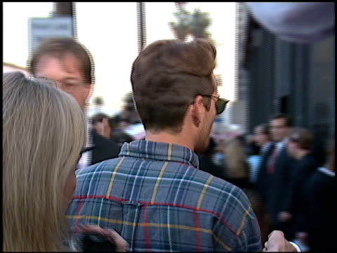 Luke Perry at the Blockbuster Awards at Pantages Theater in Hollywood California on March 6 1996