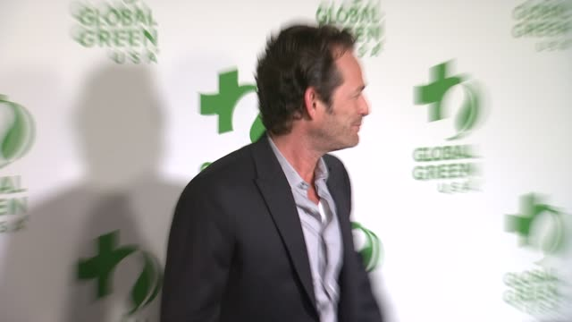 luke perry at the global green usa 11th annual pre-oscar® partyat avalon on february 26, 2014 in hollywood, california. - oscar party stock videos & royalty-free footage