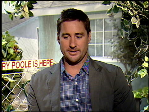 Luke Wilson and Radha Mitchell on the idea of the face of Jesus appearing any time at the HENRY POOLE IS HERE junket at Los Angeles CA