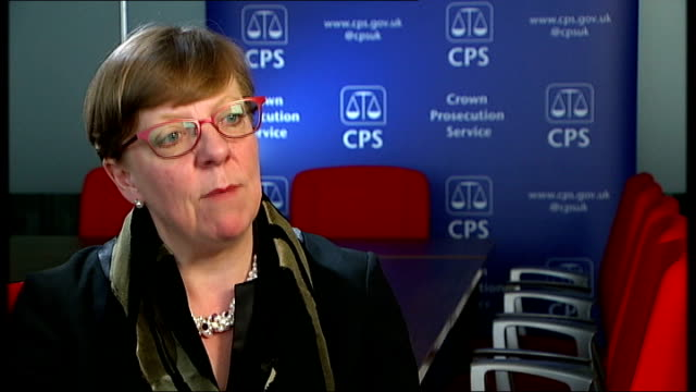 stockvideo's en b-roll-footage met lulzsec hackers in court int alison saunders and journalist chatting alison saunders interview sot ext graphicised sequence homes of hackers with... - channel 4 news