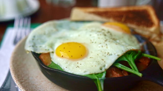 Lumberjack Casserole with Eggs, Bacon and Potato