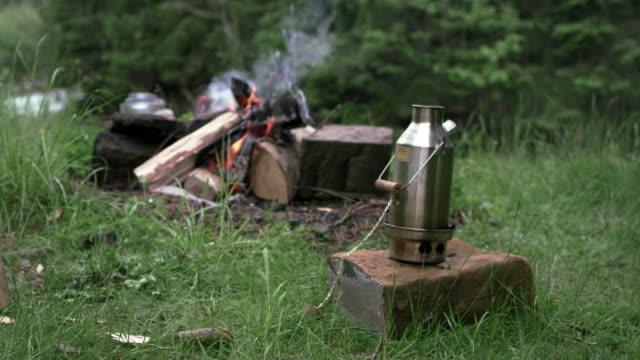 lumberjack equipment - grass stock videos & royalty-free footage
