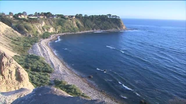 lunada bay in palos verdes. - palos verdes stock videos & royalty-free footage
