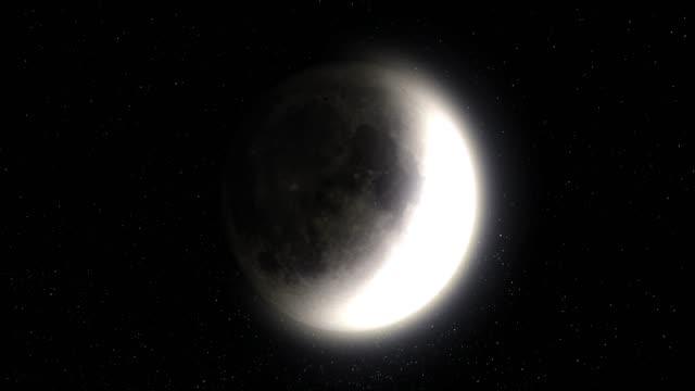 månens faser - gravitationsfält bildbanksvideor och videomaterial från bakom kulisserna
