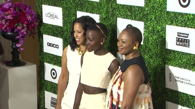 lupita nyong'o at the 7th annual essence black women in hollywood luncheon at beverly hills hotel on february 27 2014 in beverly hills california - beverly hills hotel stock videos and b-roll footage