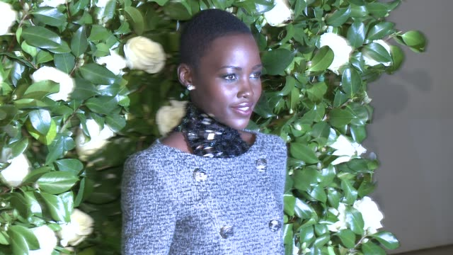 lupita nyong'o at the museum of modern art 2013 film benefit a tribute to tilda swinton at the museum of modern art on in new york city - lupita nyong'o stock videos and b-roll footage