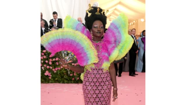 Lupita Nyong'o attends The 2019 Met Gala Celebrating Camp Notes on Fashion at Metropolitan Museum of Art on May 06 2019 in New York City