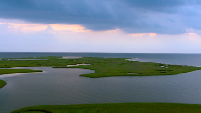 Lush lands cover the Gulf Islands National Seashore.