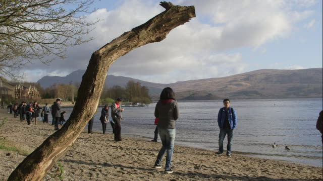 luss, loch lomond. - lake stock videos & royalty-free footage