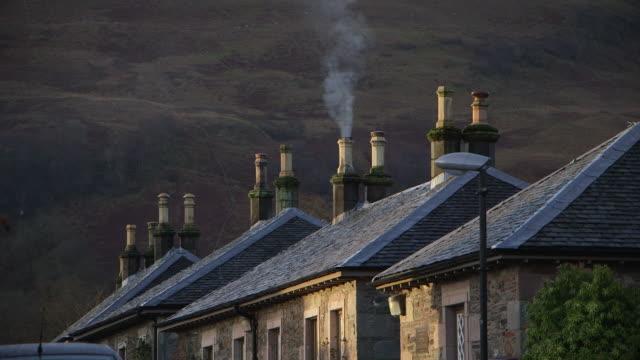 luss village, scotland. - cottage stock videos & royalty-free footage