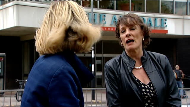 EXT Reporter asking question SOT Esther Rantzen interview with reporter in shot SOT Fell in love with the place when I came up here / they've been...
