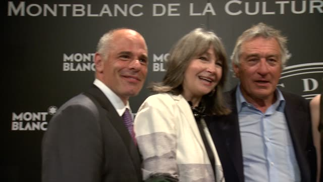 Lutz Bethge Mike Giannattasio Brooke Neidich Robert De Niro Jane Rosenthal Joe Daniels at 23rd Annual Montblanc De La Culture Arts Patronage Award...
