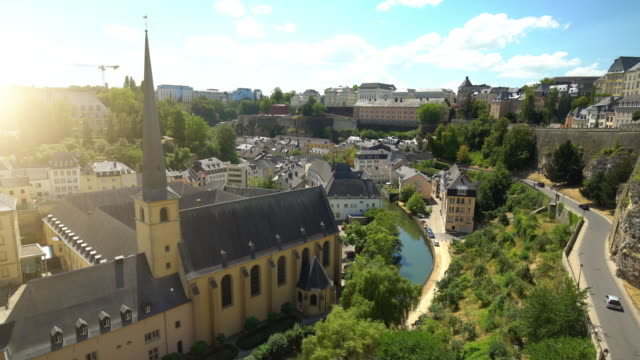 luxembourg - luxembourg benelux stock videos & royalty-free footage