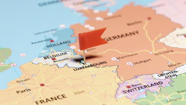 vidéos et rushes de luxembourg avec goupille - grand duché du luxembourg