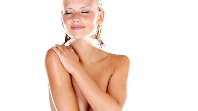 luxuriously smooth skin - naked stock videos & royalty-free footage