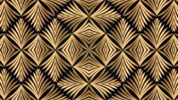 Luxury black and golden geometric pattern