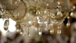 luxury chandelier,b roll