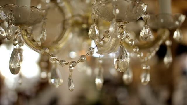 luxury chandelier,b roll - 19th century style stock videos and b-roll footage