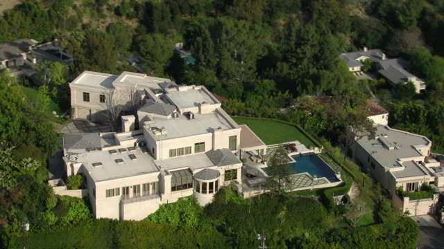 Los Angeles, California - March 30, 2011: Luxury estate located in the Hollywood Hills at 9161 Oriole Way, home to Hip Hop mogul Dr Dre circa 2011.
