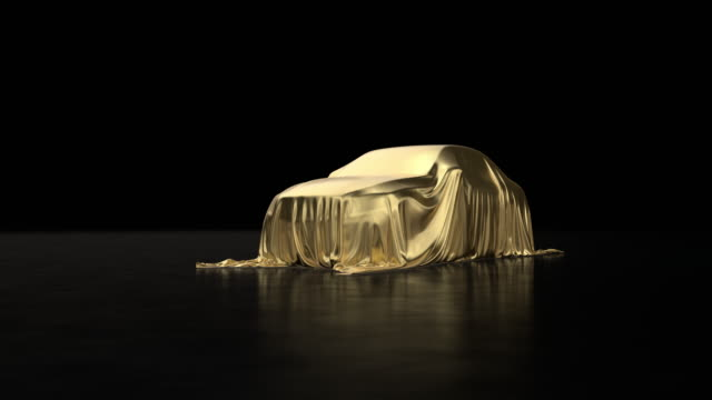 luxury machine covered with gold cloth. - awards ceremony stock videos & royalty-free footage