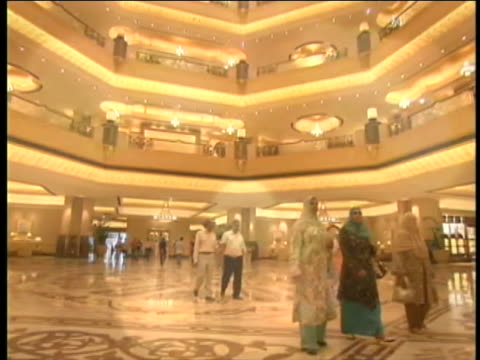 luxury shopping mall in abu dhabi in the united arab emirates demonstrates wealthy lifestyles. - luxury stock videos & royalty-free footage