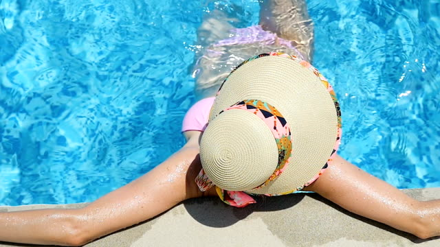 luxury summer holiday - hot tub stock videos and b-roll footage